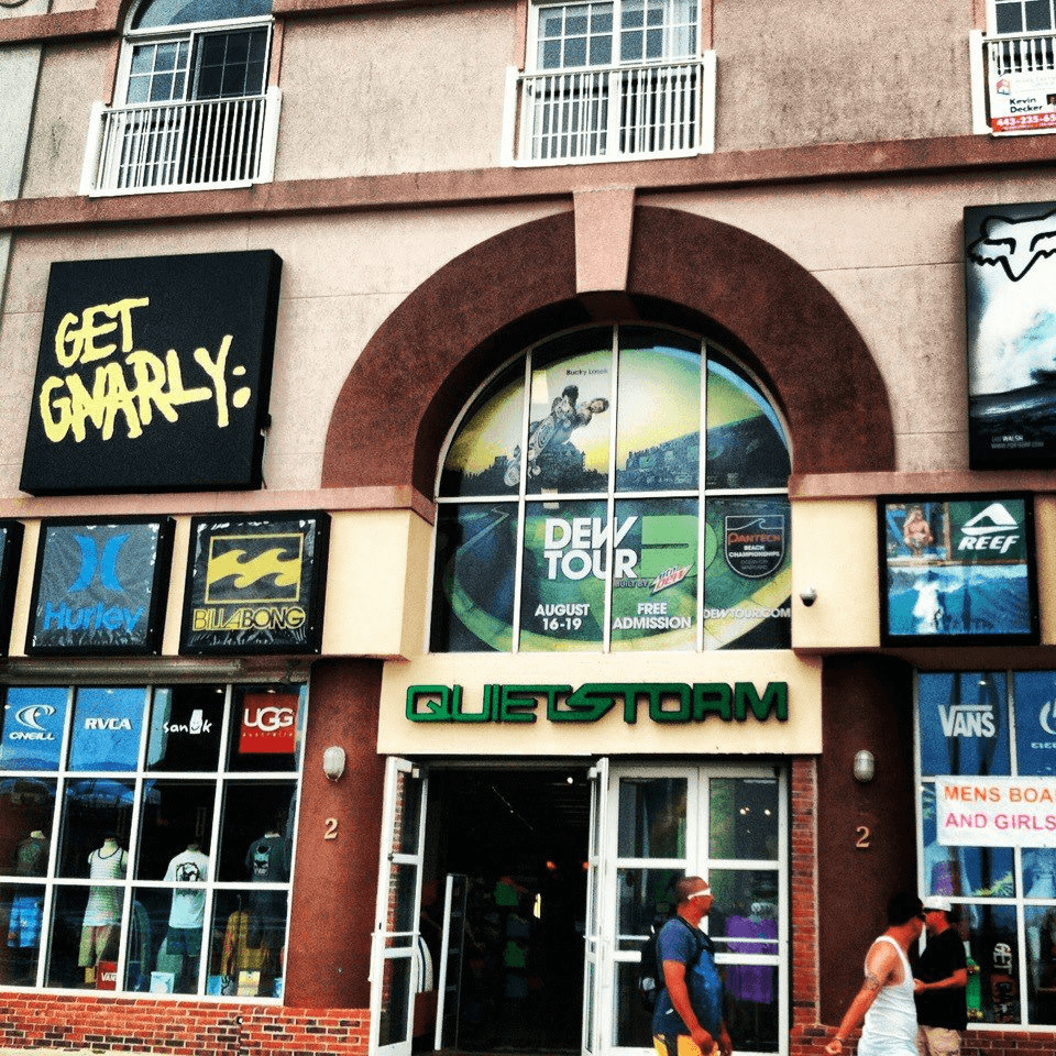 quietstorm surf shop on north division street