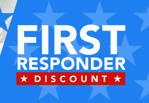 First Responder Discount logo